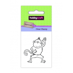 Hobbycraft Clear Stamp - Monkey (50286HC)