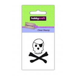 Hobbycraft Clear Stamp - Skull & Crossbones (50245HC)