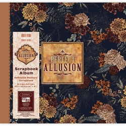First Edition 12 x 12 Album - Perfect Allusion Floral (FEALB066)