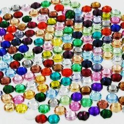 3mm Gems Multi (1000pcs)