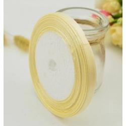 10mm Satin Ribbon - Cream (25 yards)
