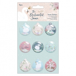 Dome Stickers (9pcs) - The Enchanted Swan (PMA 801105)
