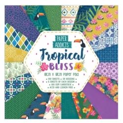 Paper Addicts Tropical Bliss 10x10cm Paper Pad (PAPAD009)