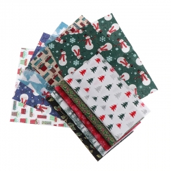 Christmas Fabric Bundle (5pcs)