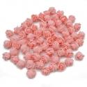 Stemless Foam Rose-heads - Peach (50pcs)