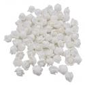 Stemless Foam Rose-heads - White (50pcs)