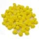 Stemless Foam Rose-heads - Yellow (50pcs)
