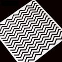 13 x 13cm Reusable Stencil - Zigzag (1pc)
