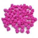 Stemless Foam Rose-heads - Fuchsia (50pcs)