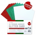 A5 Adhesive Glitter Sheets Festive (DCGCD047)