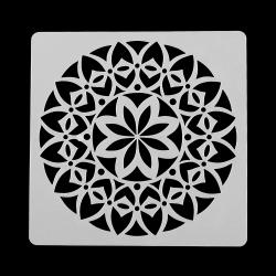 13 x 13cm Reusable Stencil - Daisy Mandala (1pc)