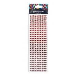 Hobbycraft Heart Gems - Reds (HCDOT133)