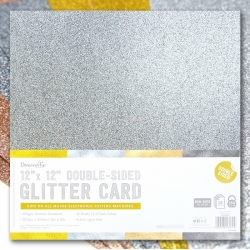 "12x12"" Double-sided Glitter Bumper pack - Metallics (DCGCD043)"