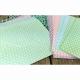 "Dovecraft Pastel Polka 5""x7"" Cards & Envelopes (DCCE007)"
