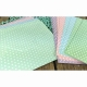 "Dovecraft Pastel Polka 6""x6"" Cards & Envelopes (DCCE008)"