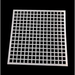 Medium Reusable Stencil - Grid (1pc)