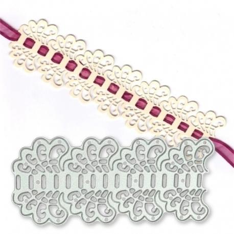 Printable Heaven die - Lace Ribbon Threader (1pc)