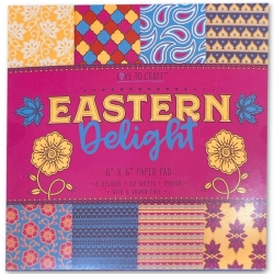Love to Craft 6x6 Paper Pad - Eastern Delight (LCPAP001)