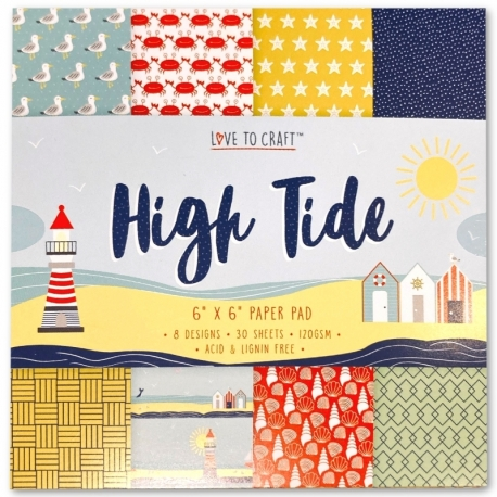 Love to Craft 6x6 Paper Pad - High Tide (LCPAP001)