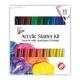 Acrylic Starter Kit 36ml 18pk (STA3753)