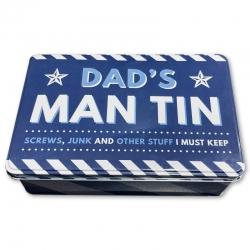 Novelty Tin - Dad's Man Tin (FAT3792)
