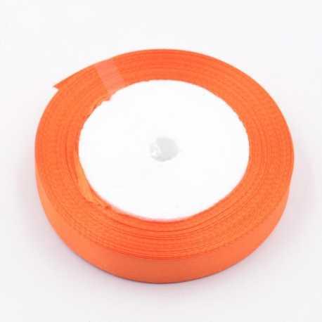 6mm Satin Ribbon - Pale Orange (25 yards)