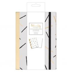 A5 Notebook - Metallic Mono (NOT 101125)