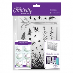 A5 Clear Stamp - Forest 20pcs (DCE 907114)