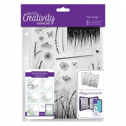 A5 Clear Stamp - Meadow 15pcs (DCE 907113)