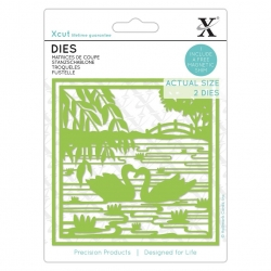 Xcut Dies - Oriental Swans 2pcs (XCU 504143)
