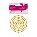 5mm Adhesive Stones (117pcs) - Gold (PMA 351614)