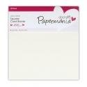 Papermania Square Cards/Envelopes 13.5 x 13.5cm (10pk 300gsm) - Cream (PMA 150201)