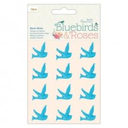 Resin Birds 12pcs (PMA 356252)