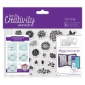 A6 Clear Stamp Set (30pcs) - Trad Floral (DCE 907120)