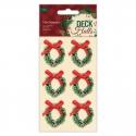 Mini Wreaths, Deck the Halls 6pcs (PMA 804942)