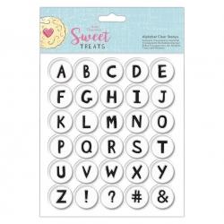 Alphabet Clear Stamp Set - Sweet Treats (PMA 907270)