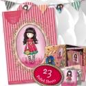 A4 Ultimate Die-cut & Paper Pack Pink (48pk) - Gorjuss (GOR 160129)