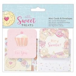 Mini Cards & Envelopes (10pk) - Sweet Treats (PMA 165127)