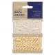 Fancy Metallic Twine (2 x 10m) - Bare Basics (PMA 171209)