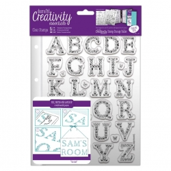 A5 Clear Stamp - Butterfly Alphabet 32pcs (DCE 907135)