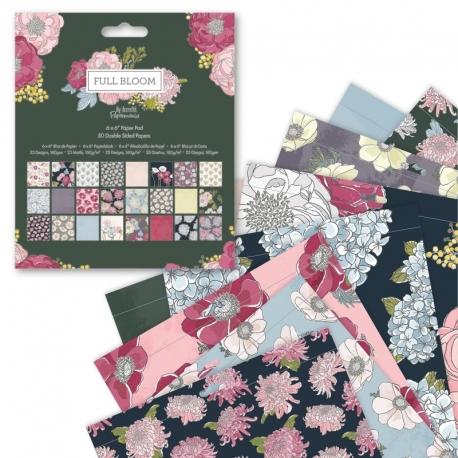 """6x6"""" Paper Pad (50pk) - Full Bloom (PMA 160511)"""
