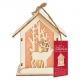 Wooden LED Shadow-box House - Stag (PMA 174952)