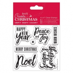 4 x 4'' Clear Stamp - Traditional Sentiments (PMA 907242)