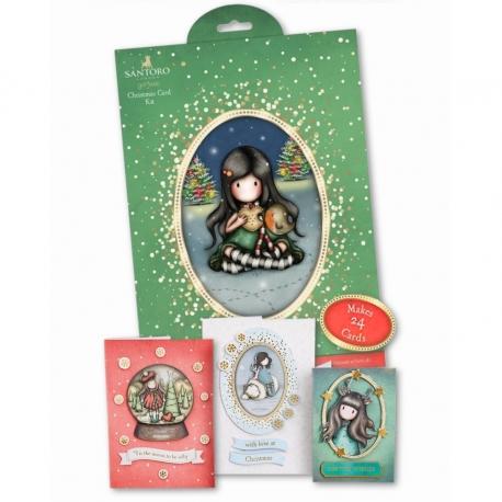 Christmas Card Kit - Gorjuss, My Christmas Friend (GOR 105118)