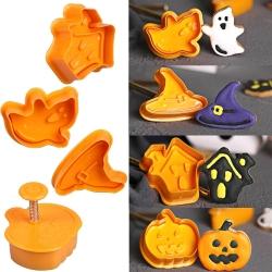 Plunger Cutter set - Halloween (4pcs)