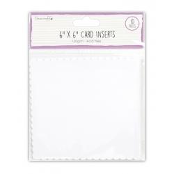 "Dovecraft Essentials 6 x 6"" Card Inserts (DCBS158)"