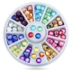Coloured Gemstone Wheel (144pcs)