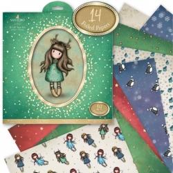 """12 x 12"""" Paper pack - Gorjuss Christmas Doe Eyed (GOR 160903)"""