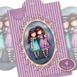 A4 Decoupage Pack - Gorjuss, Lilac (GOR 169130)
