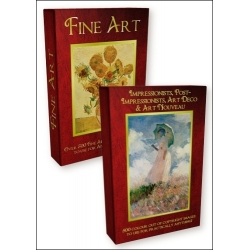 DVD - Impressionists, Post-Impressionists, Art Deco & Art Nouveau with FREE Fine Art DVD